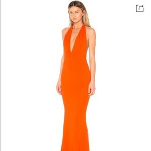 NEW NBD Jenny From The Black Orange Gown M